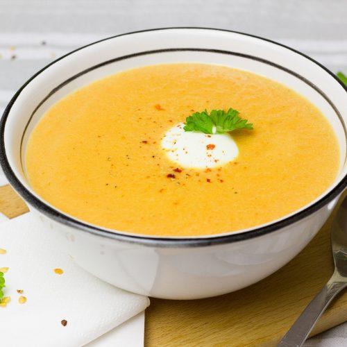 Karotte-Ingwer Suppe